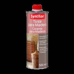 Tinte para madera Syntilor. Envase de 500 ml